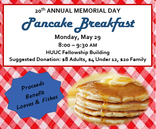 Celebrate Memorial Day with Pancakes!
